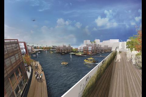 Royal Docks - floating village